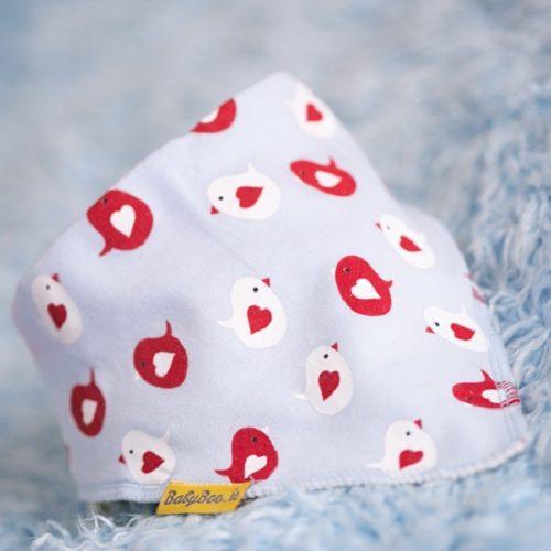 Love birds dribbleboo bandana bib