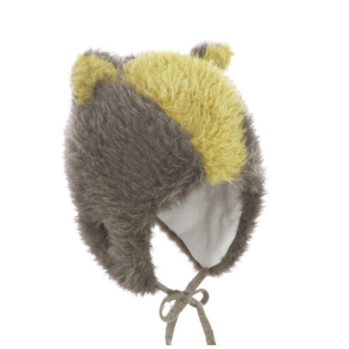 Badger wool baby hat