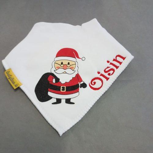 Christmas personalised bibs